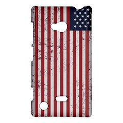 Distressed American Flag Nokia Lumia 720