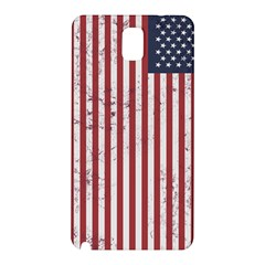 Distressed American Flag Samsung Galaxy Note 3 N9005 Hardshell Back Case