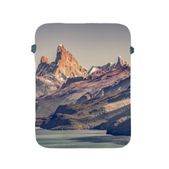 Fitz Roy And Poincenot Mountains Lake View   Patagonia Apple iPad 2/3/4 Protective Soft Cases