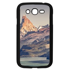 Fitz Roy And Poincenot Mountains Lake View   Patagonia Samsung Galaxy Grand DUOS I9082 Case (Black)