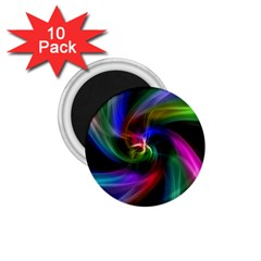 Abstract Art Color Design Lines 1 75  Magnets (10 Pack)