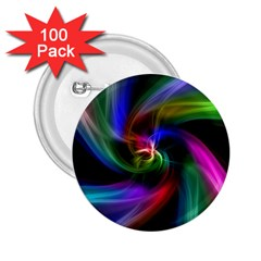 Abstract Art Color Design Lines 2 25  Buttons (100 Pack)