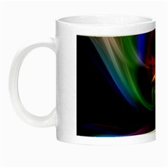 Abstract Art Color Design Lines Night Luminous Mugs
