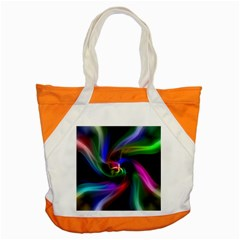 Abstract Art Color Design Lines Accent Tote Bag