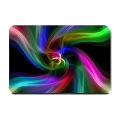 Abstract Art Color Design Lines Small Doormat