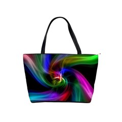 Abstract Art Color Design Lines Shoulder Handbags