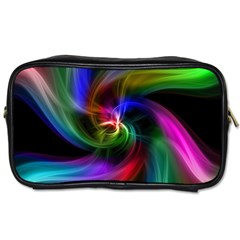 Abstract Art Color Design Lines Toiletries Bags
