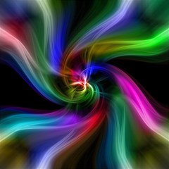 Abstract Art Color Design Lines Magic Photo Cubes