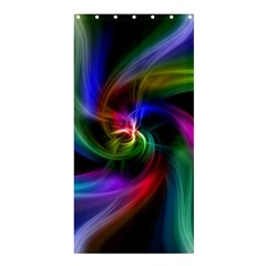 Abstract Art Color Design Lines Shower Curtain 36  X 72  (stall)