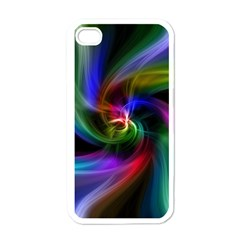 Abstract Art Color Design Lines Apple Iphone 4 Case (white)