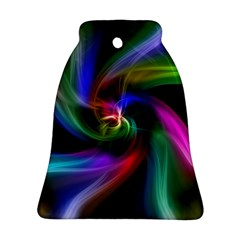 Abstract Art Color Design Lines Ornament (bell)