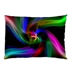 Abstract Art Color Design Lines Pillow Case (Two Sides)