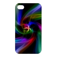 Abstract Art Color Design Lines Apple Iphone 4/4s Hardshell Case