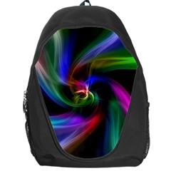 Abstract Art Color Design Lines Backpack Bag