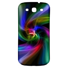 Abstract Art Color Design Lines Samsung Galaxy S3 S III Classic Hardshell Back Case