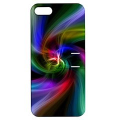 Abstract Art Color Design Lines Apple iPhone 5 Hardshell Case with Stand