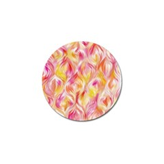 Pretty Painted Pattern Pastel Golf Ball Marker