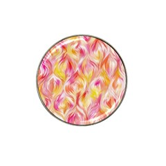 Pretty Painted Pattern Pastel Hat Clip Ball Marker (4 Pack)