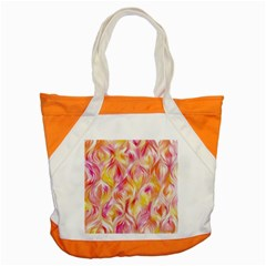 Pretty Painted Pattern Pastel Accent Tote Bag