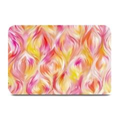 Pretty Painted Pattern Pastel Plate Mats