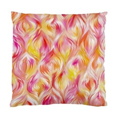 Pretty Painted Pattern Pastel Standard Cushion Case (One Side)