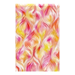 Pretty Painted Pattern Pastel Shower Curtain 48  X 72  (small)