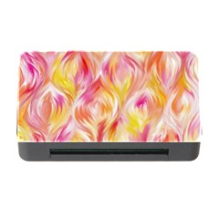 Pretty Painted Pattern Pastel Memory Card Reader with CF