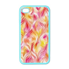 Pretty Painted Pattern Pastel Apple iPhone 4 Case (Color)