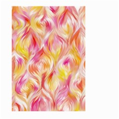 Pretty Painted Pattern Pastel Large Garden Flag (two Sides)