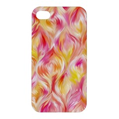 Pretty Painted Pattern Pastel Apple Iphone 4/4s Premium Hardshell Case