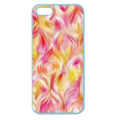 Pretty Painted Pattern Pastel Apple Seamless Iphone 5 Case (color)