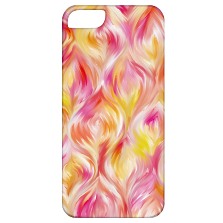 Pretty Painted Pattern Pastel Apple iPhone 5 Classic Hardshell Case
