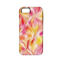 Pretty Painted Pattern Pastel Apple Iphone 5 Classic Hardshell Case (pc+silicone)