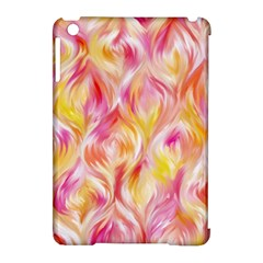 Pretty Painted Pattern Pastel Apple Ipad Mini Hardshell Case (compatible With Smart Cover)