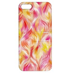 Pretty Painted Pattern Pastel Apple Iphone 5 Hardshell Case With Stand
