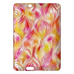 Pretty Painted Pattern Pastel Kindle Fire HDX Hardshell Case