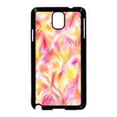 Pretty Painted Pattern Pastel Samsung Galaxy Note 3 Neo Hardshell Case (black)