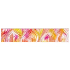 Pretty Painted Pattern Pastel Flano Scarf (Small)