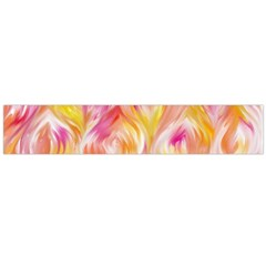 Pretty Painted Pattern Pastel Flano Scarf (Large)