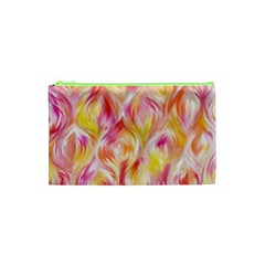 Pretty Painted Pattern Pastel Cosmetic Bag (xs)
