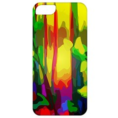Abstract Vibrant Colour Botany Apple Iphone 5 Classic Hardshell Case