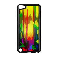 Abstract Vibrant Colour Botany Apple iPod Touch 5 Case (Black)
