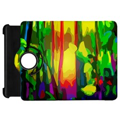 Abstract Vibrant Colour Botany Kindle Fire Hd 7