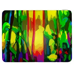 Abstract Vibrant Colour Botany Samsung Galaxy Tab 7  P1000 Flip Case