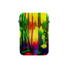 Abstract Vibrant Colour Botany Apple Ipad Mini Protective Soft Cases