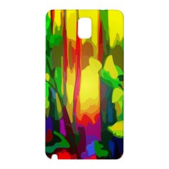 Abstract Vibrant Colour Botany Samsung Galaxy Note 3 N9005 Hardshell Back Case