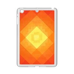 Pattern Retired Background Orange Ipad Mini 2 Enamel Coated Cases