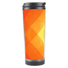 Pattern Retired Background Orange Travel Tumbler