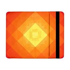 Pattern Retired Background Orange Samsung Galaxy Tab Pro 8 4  Flip Case