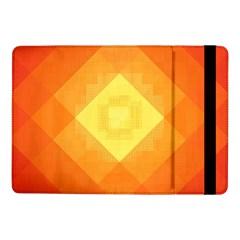 Pattern Retired Background Orange Samsung Galaxy Tab Pro 10 1  Flip Case